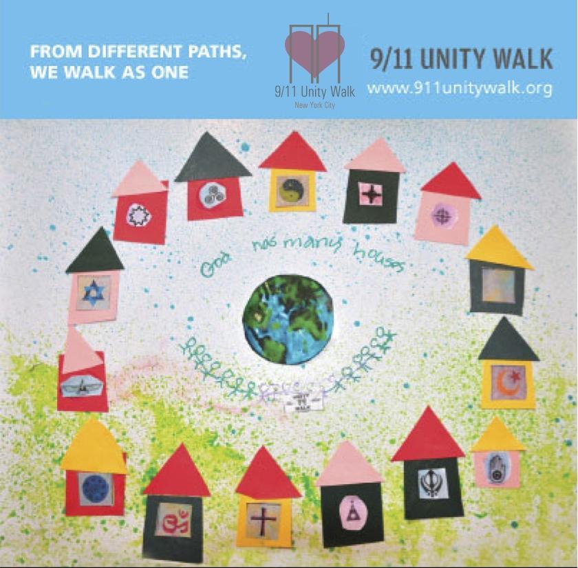 9/11 Unity Walk NYC 2013