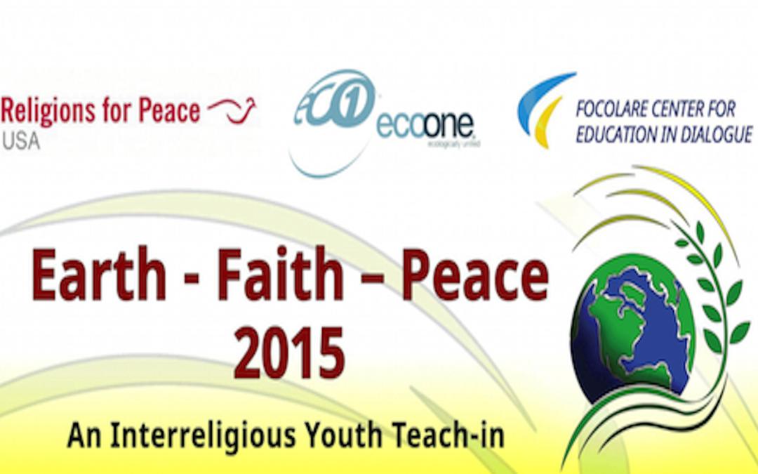 Earth – Faith – Peace: An Interreligious Youth Teach-in
