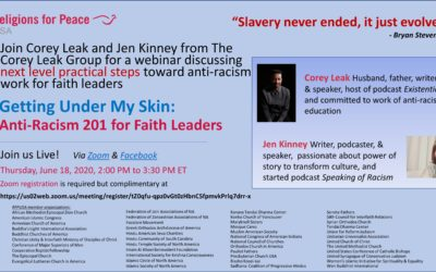 June 18 – Getting Under My Skin: Anti-Racism 201 for Faith Leaders