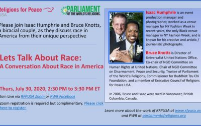 July 30 – Lets Talk About Race: A Conversation About Race in America