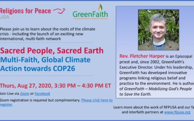 August 27: Sacred People, Sacred Earth