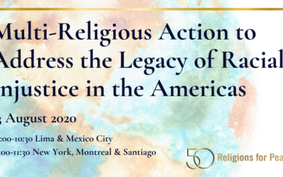 August 13: Multi-Religious Action to Address the Legacy of Racial Injustice in the Americas