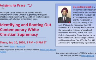 Sep 10: Identifying & Rooting Out Contemporary White Christian Supremacy