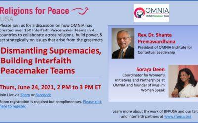 June 24 – Dismantling Supremacies, Building Interfaith Peacemaker Teams