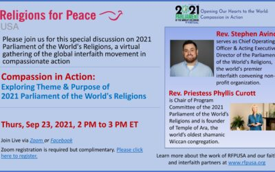 Sep 23 – Compassion in Action: Exploring Theme & Purpose of 2021 PWR